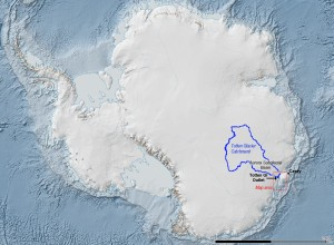 Totten antarctique